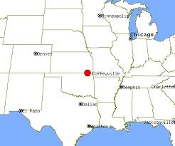 Coffeyville Map