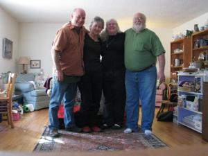 Mike, Conny, Alice & Ron ~ Greeley, CO