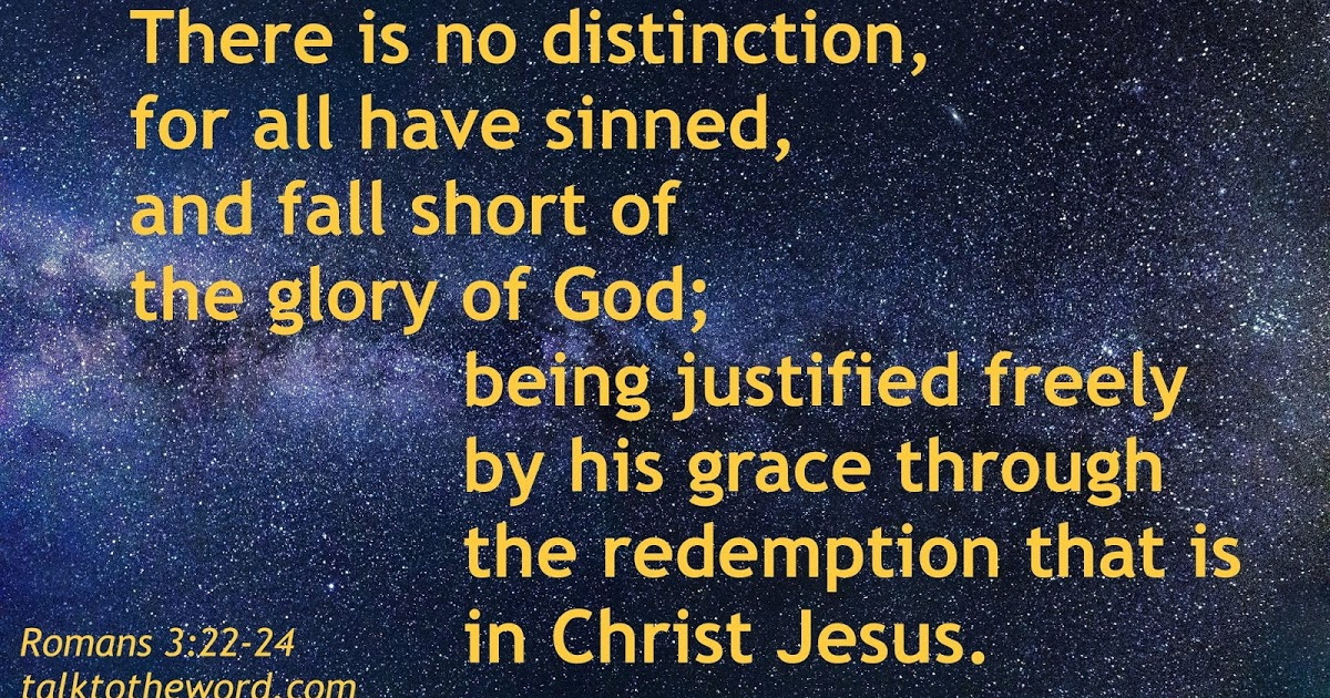 Romans 3:22-26